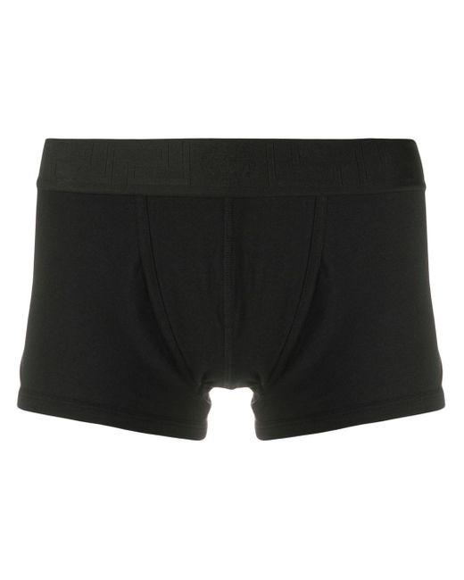 Versace Black Elasticated-waist Boxer Briefs for men