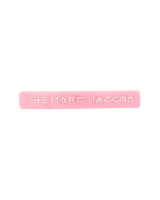 Marc Jacobs ロゴ ヘアクリップ Pink