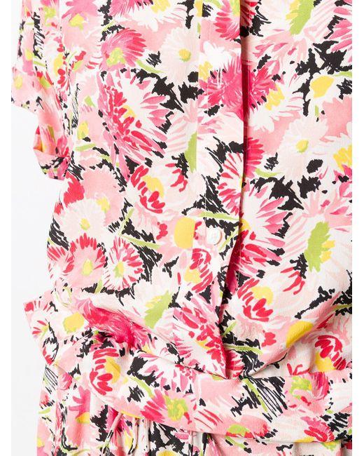 Stella McCartney フローラル ジャンプスーツ Pink