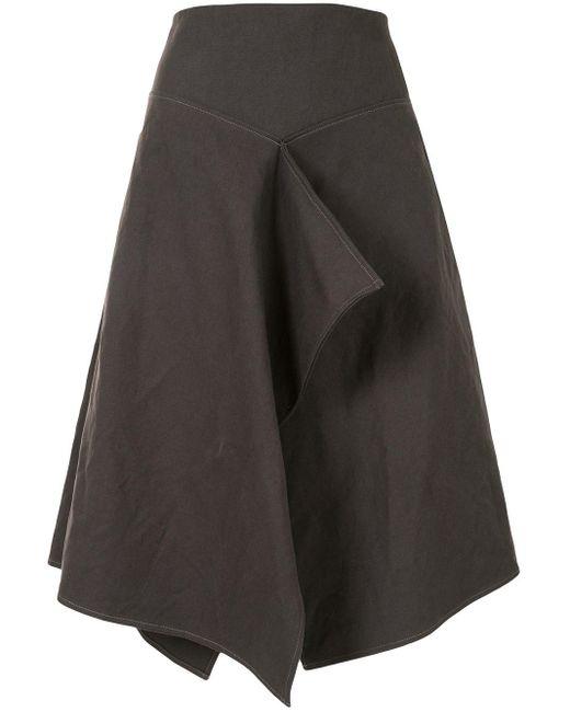 Lemaire ドレープ スカート Gray