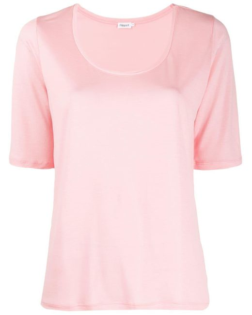 Filippa K スクープネック Tシャツ Pink