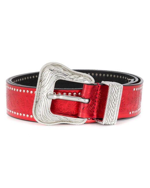 Cintura con fibbia Joana di Htc Los Angeles in Red