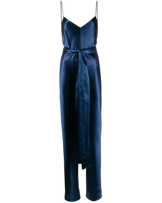 Galvan メタリック ジャンプスーツ Blue