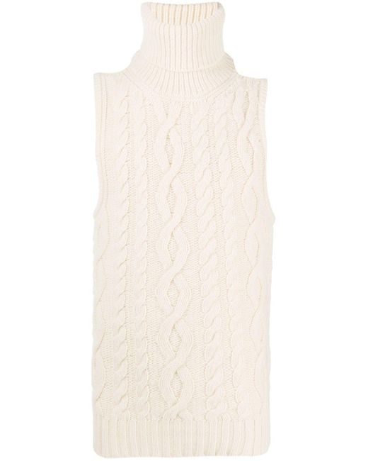 Джемпер Фактурной Вязки Без Рукавов Telfar, цвет: Multicolor