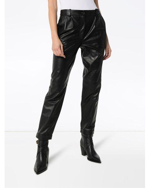 Pantaloni slim di Nili Lotan in Black