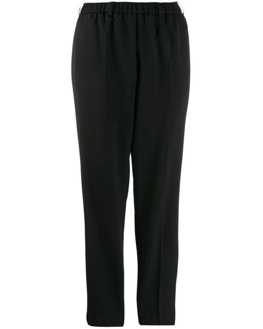 Pantaloni taglio straight di Forte Forte in Black