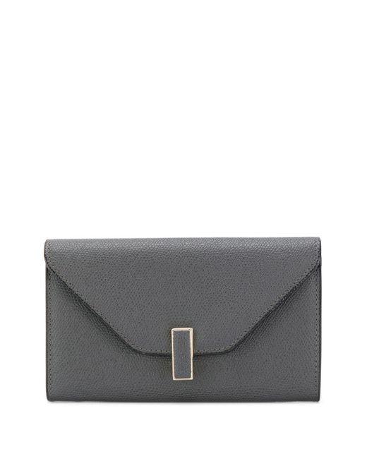 Valextra フラップ財布 Gray