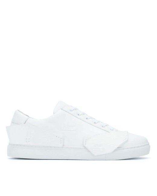 A_COLD_WALL* White Low-top Sneakers for men