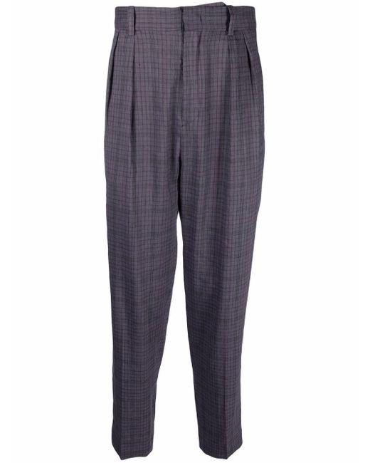 Pantalon fuselé à carreaux Isabel Marant pour homme en coloris Blue