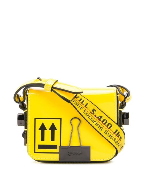 Off-White c/o Virgil Abloh Binder Clip バッグ Yellow