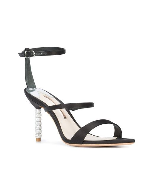 Sophia Webster 'rosalind' Heeled Sandals Black