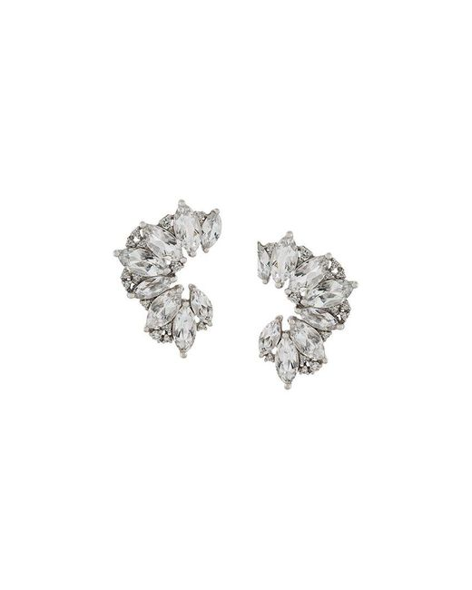 Elise Dray - Metallic Topaz & Diamond Earrings - Lyst