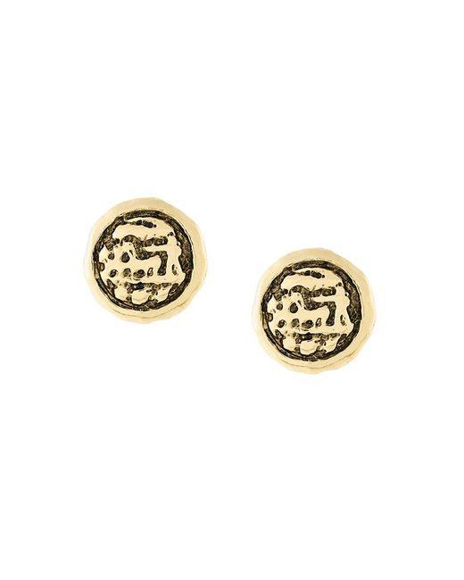Aurelie Bidermann - Metallic Alhambra Clip-on Earrings - Lyst