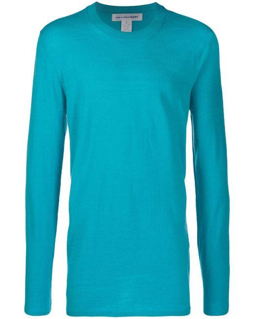 メンズ Comme des Garçons スウェットシャツ Blue