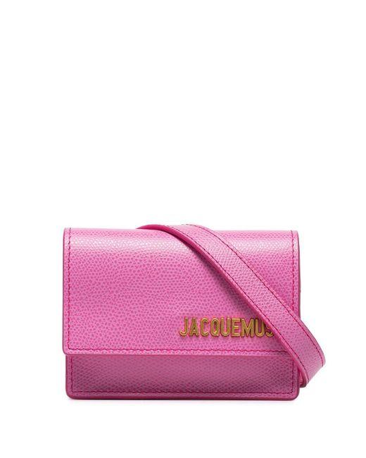Jacquemus Pink Le Cienture Bello Belt Bag