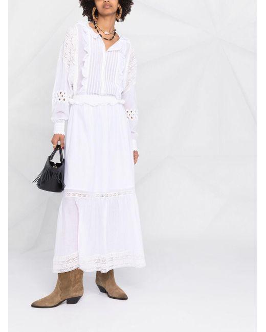 Zadig & Voltaire Ritual アイレットレース ドレス White