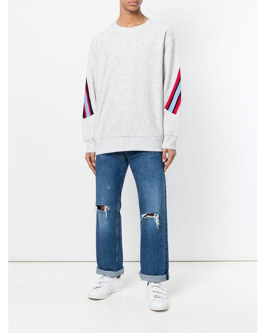 メンズ Facetasm スウェットシャツ Gray