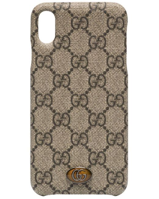 Gucci Brown Ophidia Iphone Xs Max Case