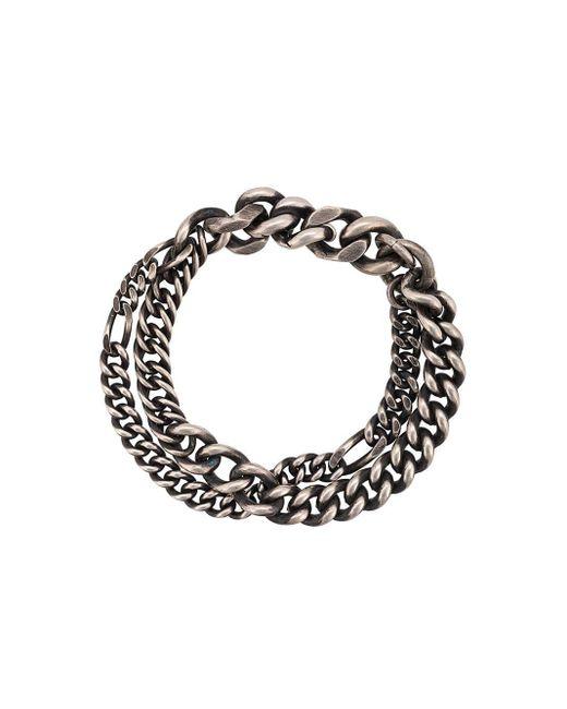 Werkstatt:münchen Double Chain Bracelet Multicolor