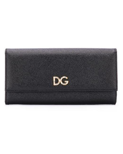 Dolce & Gabbana フラップ財布 Black