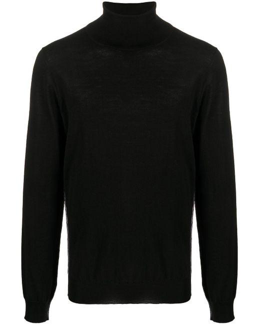 メンズ Maison Margiela タートルネック プルオーバー Black