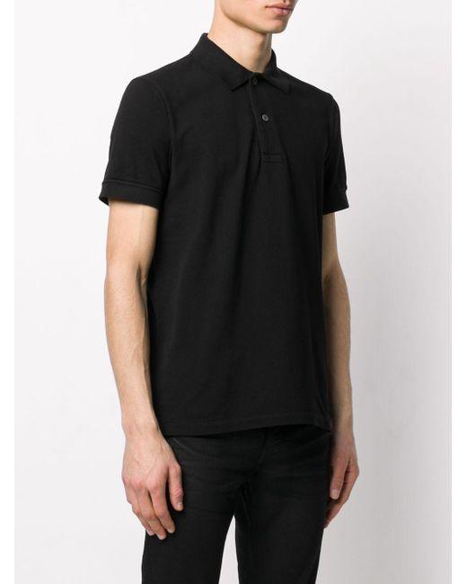 メンズ Tom Ford ポロシャツ Black