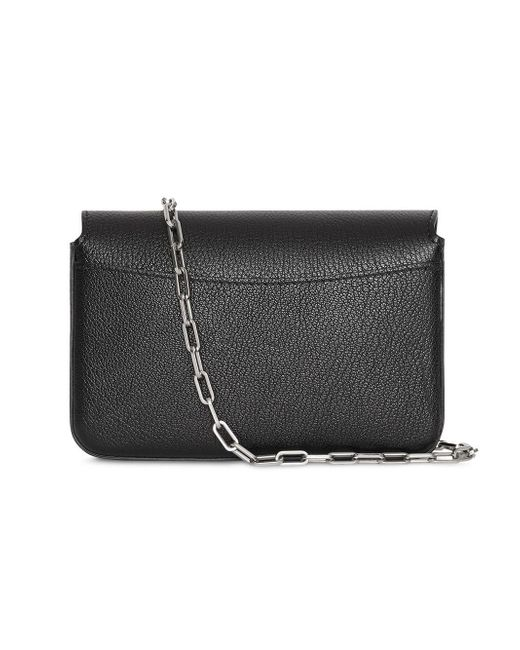 0f7a7fe91632 ... Burberry - Black The Mini Leather D-ring Bag - Lyst ...