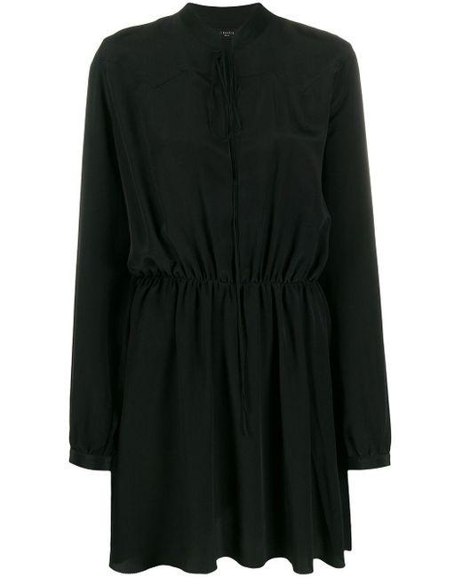 Amiri クレープ ドレス Black