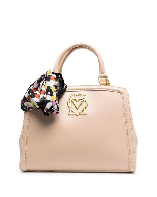 Love Moschino ロゴトリム ハンドバッグ Multicolor