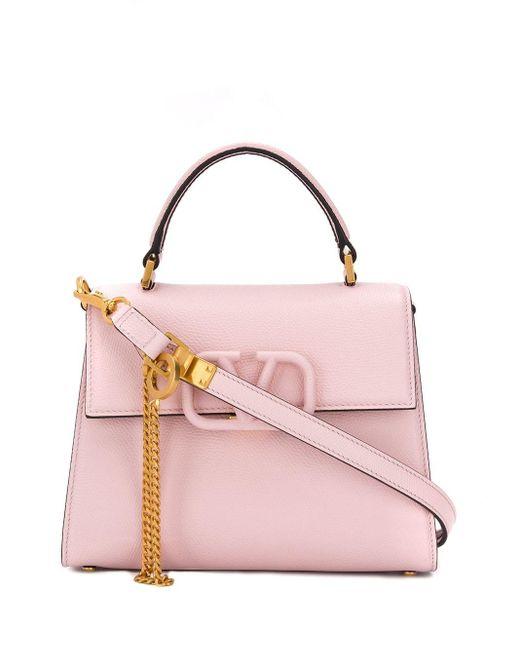 Valentino Garavani Vスリング ハンドバッグ Pink