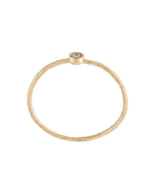 Wouters & Hendrix   Metallic Single Diamond Ring   Lyst