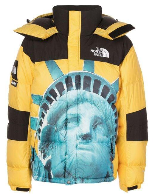 メンズ Supreme X The North Face Baltoro ジャケット Yellow