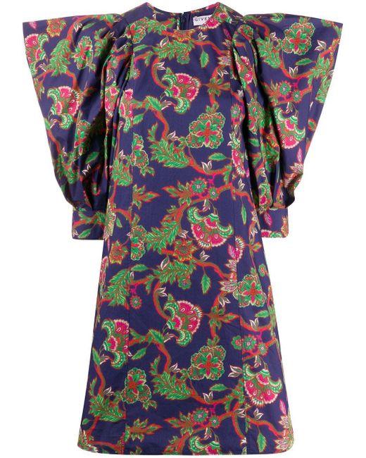 Givenchy フローラル ドレス Multicolor