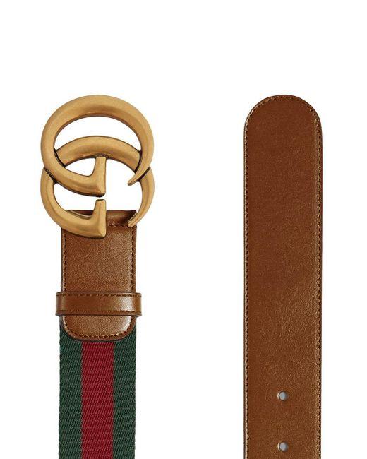 Ремень С Пряжкой GG Gucci, цвет: Brown