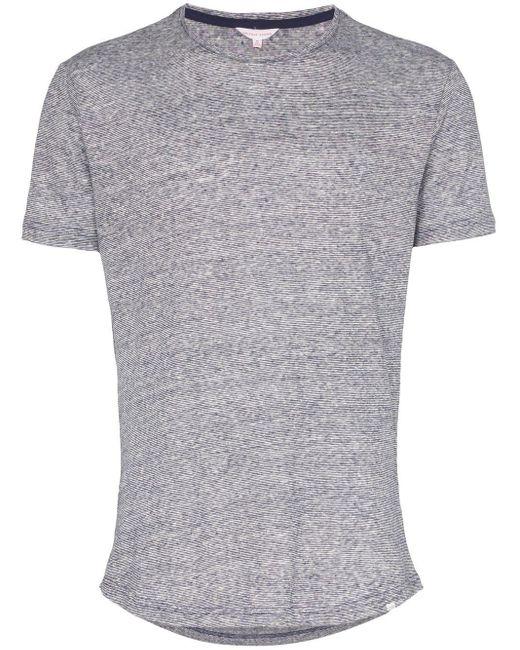 メンズ Orlebar Brown リネン Tシャツ Gray