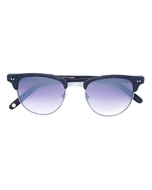 Garrett Leight Gray 'valita' Sunglasses
