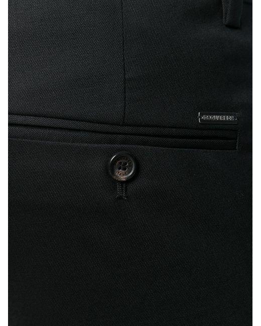 Укороченные Брюки DSquared² для него, цвет: Black