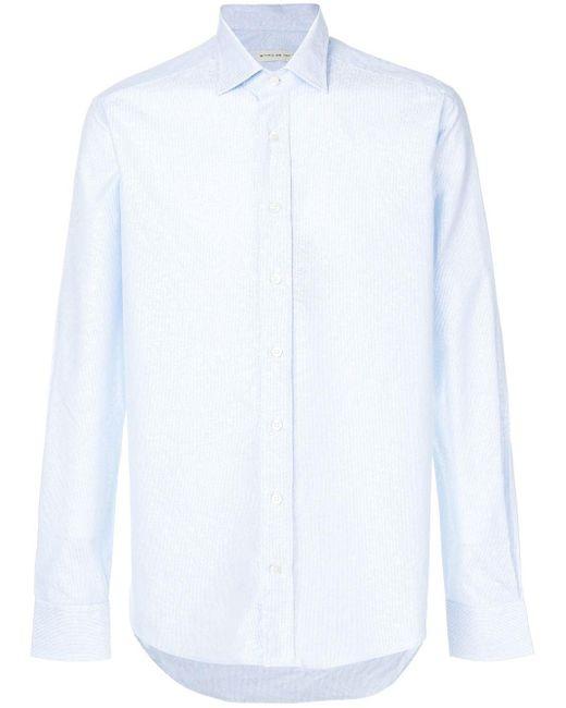 メンズ Etro コットンシャツ Blue