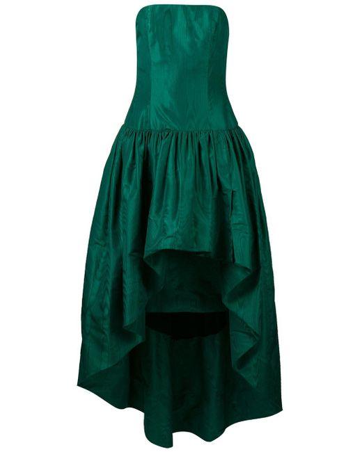 William Vintage 1960 ベアトップドレス Green