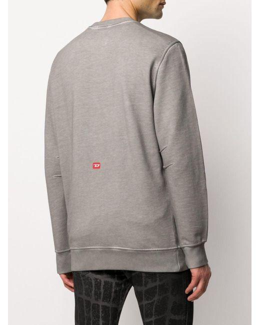 Sudadera con logo de DIESEL RED TAG x * A_COLD_WALL* de hombre de color Gray