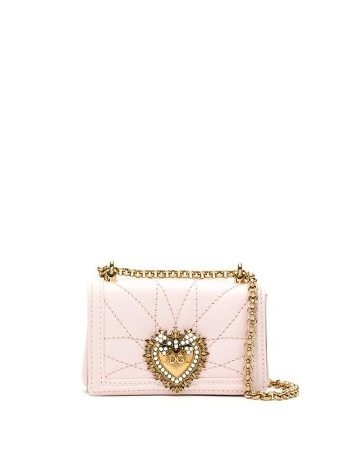 Dolce & Gabbana Devotion バッグ ミニ Pink