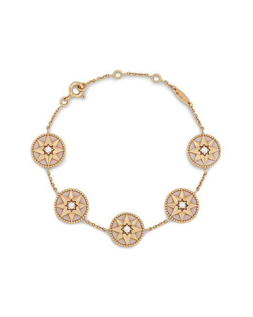 Браслет Rose Des Vents Dior, цвет: Metallic