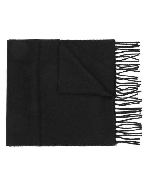 Écharpe à patch logo brodé Fendi pour homme en coloris Black