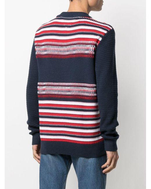 メンズ Tommy Hilfiger ジオメトリックニット セーター Multicolor