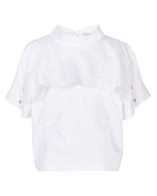 3.1 Phillip Lim ドルマンスリーブ Tシャツ White
