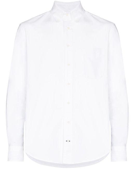 Gitman Brothers Vintage White Button-down Formal Shirt for men