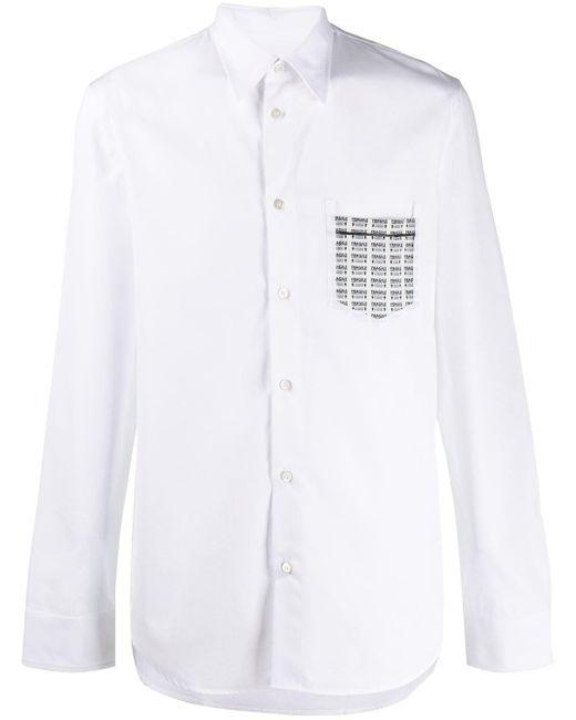 メンズ Maison Margiela Fragile シャツ White