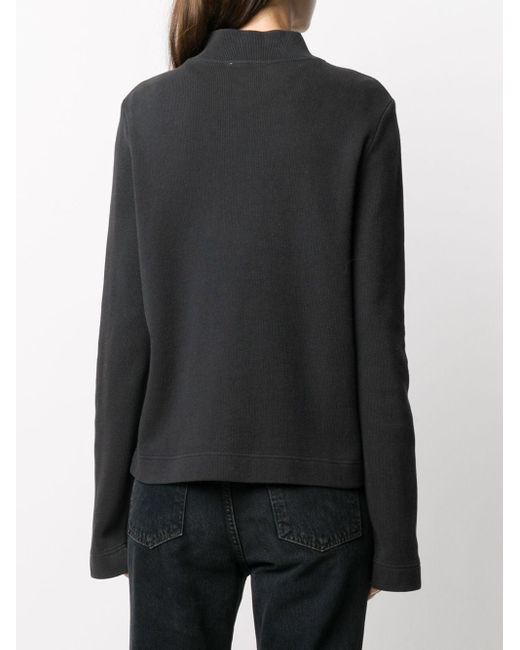 YMC ハイネック スウェットシャツ Black
