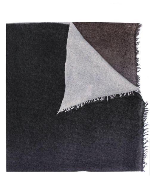 Шарф В Стиле Колор-блок Faliero Sarti, цвет: Gray