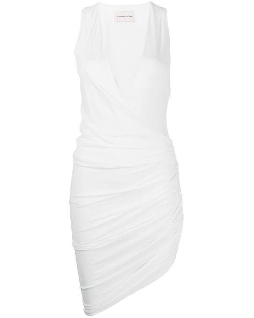 Alexandre Vauthier ギャザードレス White